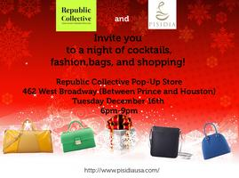 Cocktails, Bags and Shopping with Pisidia