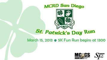2013 MCRD San Diego St. Patrick's Day Run