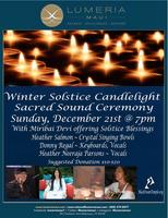 Winter Solstice Candlelighting Ritual