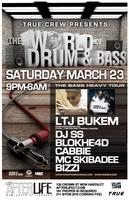 !!! CANCELED !!! WODB at AFTERLIFE! w/ LTJ BUKEM, DJ SS, MC...