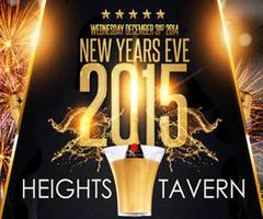 The Heights Tavern NYC New Years Eve Party NYC Washingt...