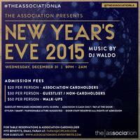 New Year's Eve 2015 at The Association