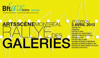 Le Rallye des galeries ArtsScène