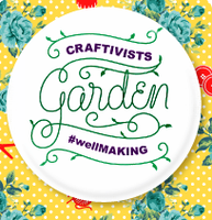 Craftivist Garden #wellMAKING:  Reception and Speakers