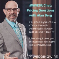 #WWEDU Chat: Pricing Questions with Alan Berg