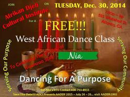 Free African Dance Class - Kwanzaa Edition