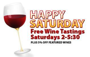 Wine and Spirit Warehouse Saturday Wine Tastings!