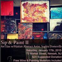 Sip-N-Paint II: Newark Edition w/ Haitian American...