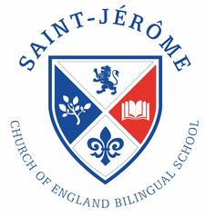 St. Jérôme Church of England Bilingual School logo