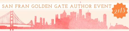 San Fran Golden Gate Author Event 2015