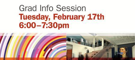 Grad Info Session — February 17th
