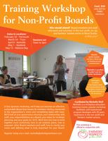 Training Workshop for Non-Profit & Farmers' Market...