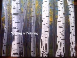 Sip N' Paint Aspens Sat Apr 21st  7:30pm