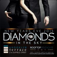 DIAMONDS IN THE SKY AT BROOKLYN TERRACE PENTHOUSE ROOFT...