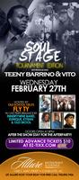 Soul Stage At Allure Introducing Teeny Barrino & Vito...