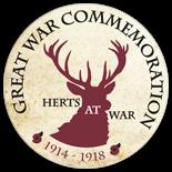 Herts at War  logo