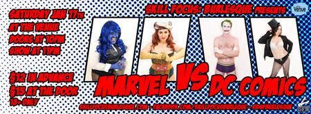 Skill Focus: Burlesque presents Marvel vs DC!