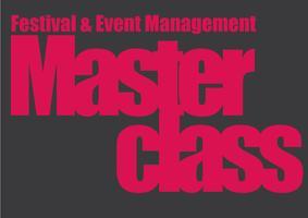 Festival and Event management Masterclass - Kortrijk
