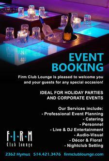 Firm Club Lounge logo
