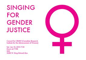Singing for Gender Justice