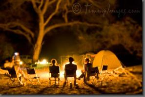 Spring Break - Beach Camping + Comet Watching