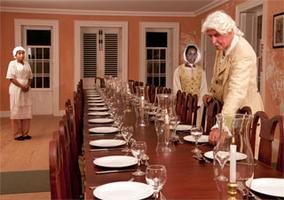 Dinner with George Washington @ Trenton Social