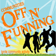 Communities Off n' Funning logo