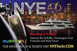NYE 2015 Yacht Party - Chicago New Year's