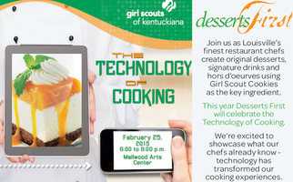 Girl Scouts of Kentuckiana - Desserts First 2015