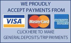 General Deposits/Trip Payments