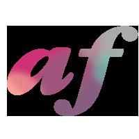 Adrienne Furrie, pro makeup artist & founder of Beauty School logo