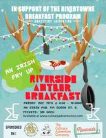 Riverside Antler Breakfast Holiday Party