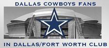DALLAS COWBOYS FANS IN DFW logo