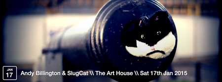 Andy Billington's SlugCat + Stuey Goodeve \\ The Art...