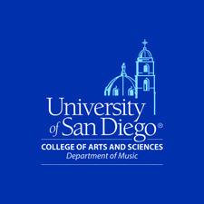 University of San Diego Department of Music logo