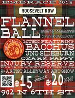 Flannel Ball New Year's Party and Art Show 2015