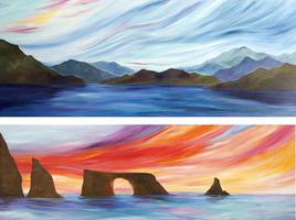 Acrylic Painting Workshops for All Skills with Jen Livi...
