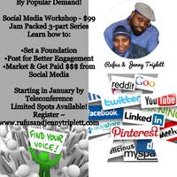 Social Media Workshop - 3 Part Series