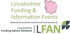 Lincolnshire Funding & Information Events logo
