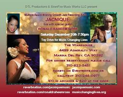 JACNIQUE live with special guest RONALD RAHEEM ROSS (&...