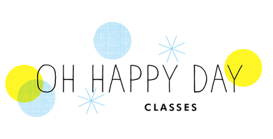 "Oh Happy Day Craft Night | ""Make & Give"" with Erin..."