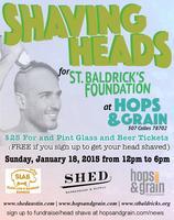 Shaving Heads for St. Baldrick's!