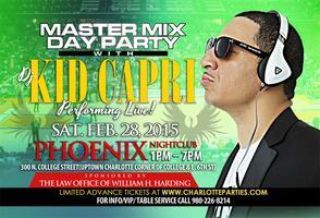 Kid Capri Master Mix Day Party @ The Phoenix  February...