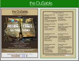 """MISSING PAGES LECTURE SERIES: """"Unreasonable Doubt:"""