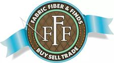 Fabric, Fiber & Finds logo