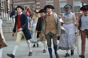 History Space: To Turn a Good Leg, Men's Breeches...