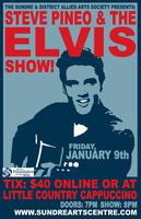 Steve Pineo and the Elvis Show performing at the Sundre...
