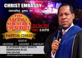 December 2014 Special New Year's Eve Service with...