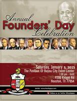 Founders' Day Celebration (J5) / Bayou City Event...