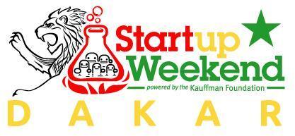 Dakar Startup Weekend #2 - Avril 2013